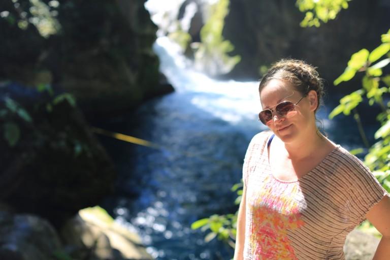Katie at Puente Del Dios