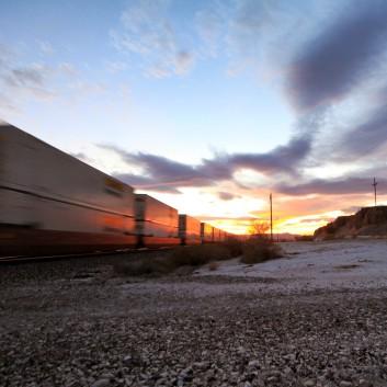 Trains Racing In AZ