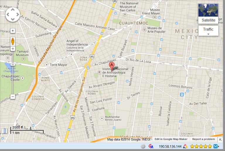 Our neighborhood in Mexico City