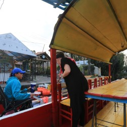 The floating bar (and the most expensive beers in Mex!)
