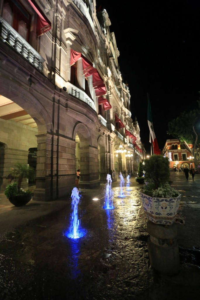 Mexico sure knows how to light up their cities though!