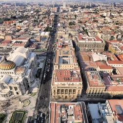 View from the tower in Mexico City