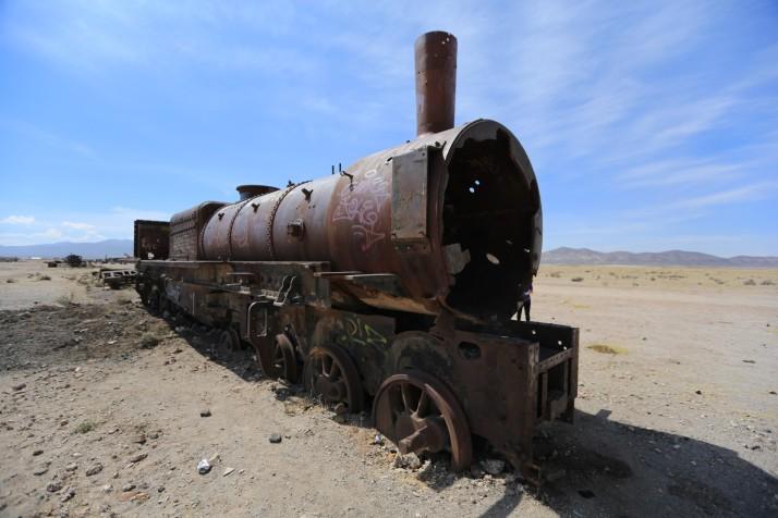 Rusted, Old, Cool - in Uyuni
