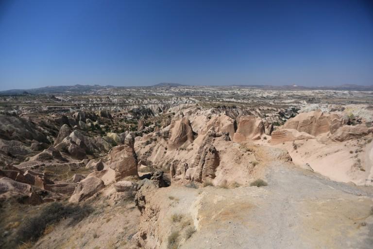 Landscape features of Cappadocia