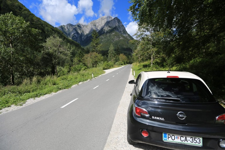 The direct opposite of Madagascar, every road in Slovenia - even the steepest mountain road, is great.