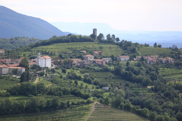 Look - it's wine country - with castles!