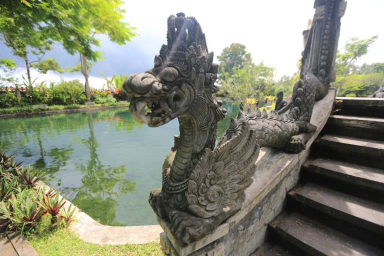 At the water palace
