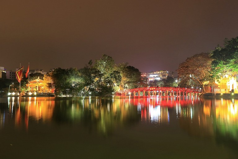 Good night Hanoi!