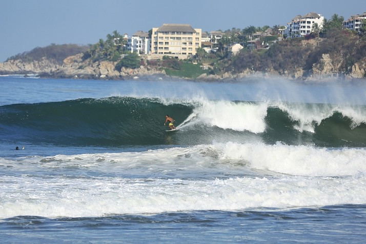 If you surf, you just have to go. Puerto Escondido.