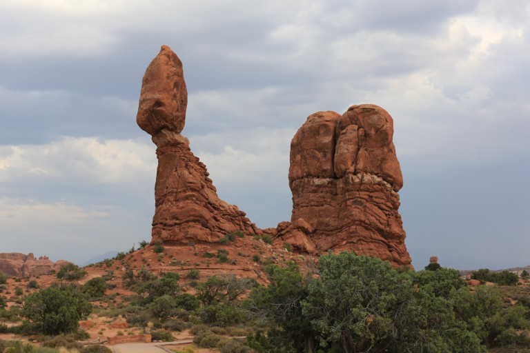 So - remind me how this happened?  Balance Rock at Arches NP.
