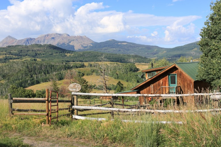 Living the ranch life in Telluride
