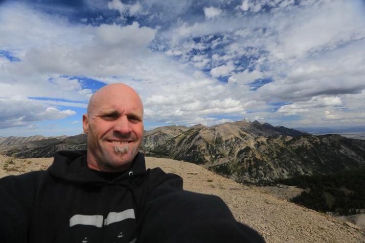 Token selfie at 10,000 feet elevation