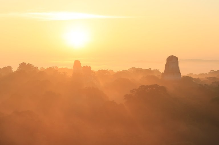 Epic Sunrise at Tikal