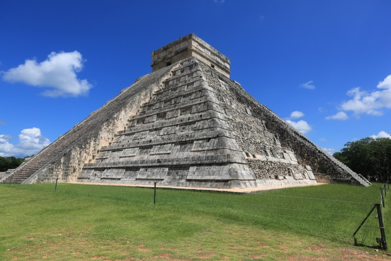 The largest Mayan temple in the region.