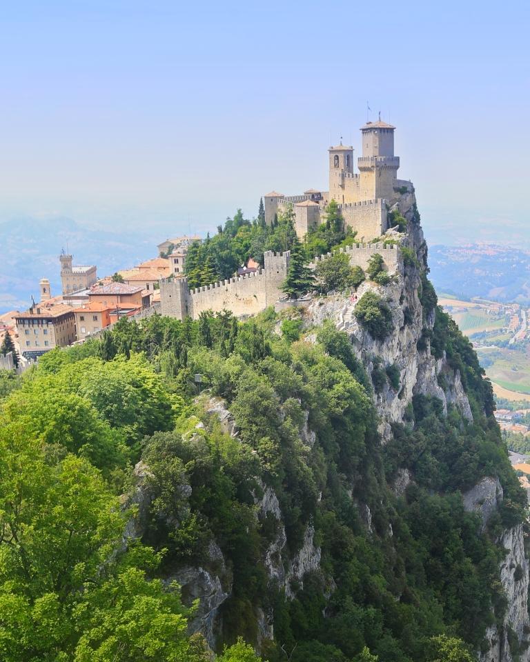 Perfect Castle in San Marino