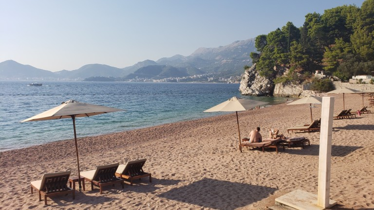 The-beach-at-sveti-stefan
