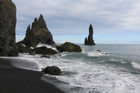 Rocky coastlines are part of the experience