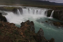 Another great waterfall right on the ring road west of Akureyri